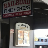 Photo taken at Railroad Fish & Chips by Madeleine Z. on 11/22/2016