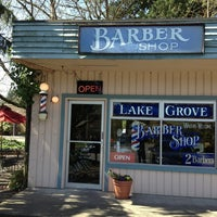 Photo taken at Lake Grove Barbershop by Marcio L. on 3/30/2013
