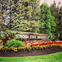 Photo taken at Sonoma State University by Genai K. on 7/7/2013