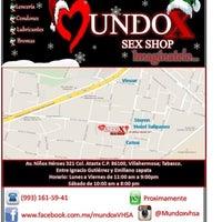 Photo taken at MundoX SexShop by Abraham A. on 12/14/2014