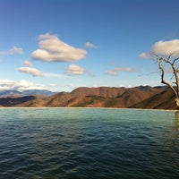 Photo taken at Hierve el Agua by Dani V. on 3/27/2013