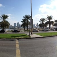 Photo taken at King Khaled Lagoon by Igors D. on 12/21/2013