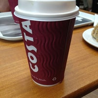 Photo taken at Costa Coffee by Cara S. on 6/14/2013