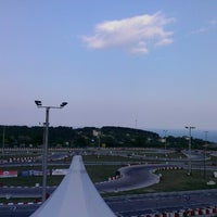 Photo taken at Varna Karting Track by Миглена К. on 7/27/2013