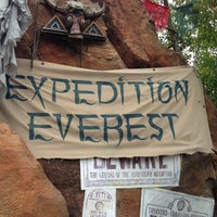 Photo taken at Expedition Everest by Bob S. on 1/3/2013