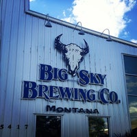 Photo taken at Big Sky Brewing Company by Jane H. on 8/7/2013