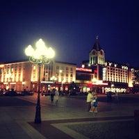 Снимок сделан в Площадь Победы пользователем Plankton 6/21/2013