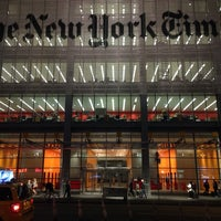 Photo taken at The New York Times Building by Plankton on 10/9/2013