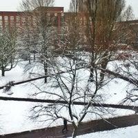 Photo taken at University Square by Iván F. on 1/24/2013