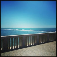 Photo taken at Pontile di Ostia by Vincenza T. on 5/17/2013