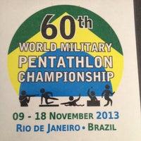 Photo taken at 60º Mundial De Pentatlo Militar by Geovane C. on 11/15/2013