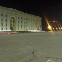 Снимок сделан в Площадь Ленина пользователем Dmitry S. 7/29/2013
