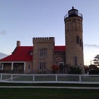 Photo taken at Old Mackinac Point Lighthouse by CK on 10/16/2014