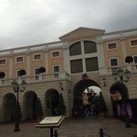 Photo taken at La Reggia Designer Outlet by Alessandro I. on 4/26/2013