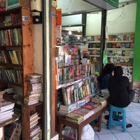 Photo taken at Taman Pintar Bookstore by Rico A. on 8/17/2015