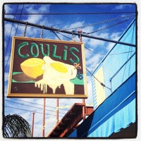Photo taken at Coulis by Emily A. on 11/4/2012
