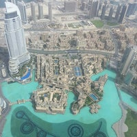 Photo taken at Burj Khalifa by Daria S. on 5/14/2013