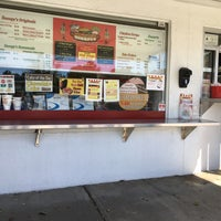Photo taken at Snoopy's Hot Dogs & More by Shaghayegh P. on 10/9/2016
