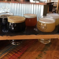 Photo taken at Thirsty Bro Brewing Co by Harvey K. on 9/1/2018