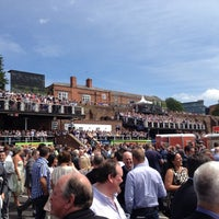 Photo taken at Chester Racecourse by Christopher W. on 6/29/2013