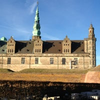 Photo taken at Kronborg Castle by Christopher W. on 3/6/2013