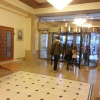Photo taken at Capsis Hotel Thessaloniki by Sneška V. on 3/29/2013