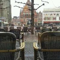 Photo taken at Grand Café Brinkmann by Alfredo P. on 2/3/2013