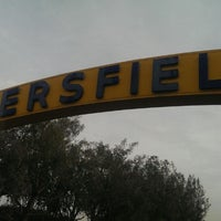 Photo taken at The Bakersfield Sign by Keith N. on 1/26/2014