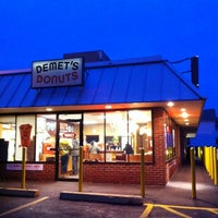 Photo taken at Demet's Donuts by Georgy C. on 12/7/2012