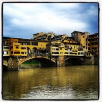 Photo taken at Ponte Vecchio by Michele T. on 5/18/2013