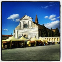 Photo taken at Piazza Santa Maria Novella by Michele T. on 2/8/2013