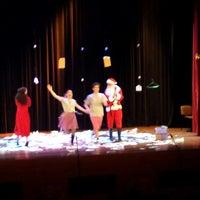 Photo taken at Δημοτικό Θέατρο Πεύκης by Savvas S. on 12/20/2014