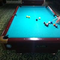 Photo taken at Billiarium Pool Club by Kaan K. on 4/3/2013