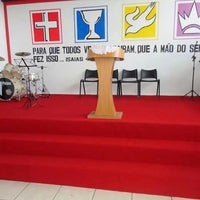 Photo taken at Igreja do Evangelho Quadrangular Em Carlos Chagas by MISSOES REGIAO 472 on 11/18/2013