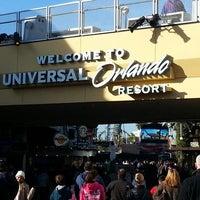 Photo taken at Universal Orlando Resort by Dani T. on 12/31/2012