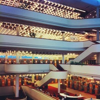 Photo taken at Toronto Public Library - Toronto Reference Library by Sam W. on 7/18/2013