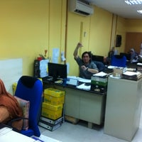 Photo taken at Supply Chain Solution Department by OUTDOOR WORLD ADVENTURE O. on 2/14/2013