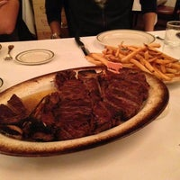 Photo taken at Wolfgang's Steakhouse by Flora K. on 10/6/2013