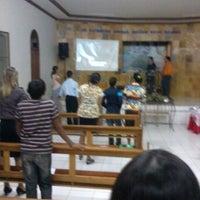 Photo taken at Igreja Adventista do Sétimo Dia by Henrique A. on 5/19/2013