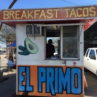 Photo taken at El Primo Taco Truck by Mandi on 2/14/2015