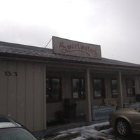 Photo taken at Sweetwater's Donut Mill by Mark J. on 2/19/2013
