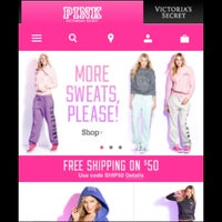 Photo taken at Victoria's Secret PINK by Gabrielle J. on 12/9/2012