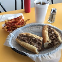 Photo taken at The Original Steaks & Hoagies by Mark A. on 1/15/2015