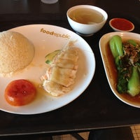 Photo taken at Food Republic by Pabpab S. on 12/17/2012