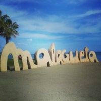 Foto tomada en Playa de La Malagueta por Didem E. el 3/28/2013