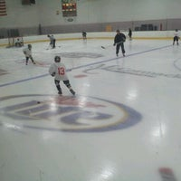 Photo taken at Kettle Moraine Ice Center by Brian F. on 11/4/2011