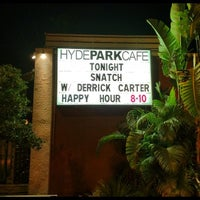 Photo taken at Hyde Park Cafe by Derrick C. on 4/14/2012
