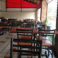 Photo taken at Restaurante La Santa Cruz by Paulina T. on 3/28/2012