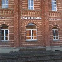 Photo taken at Bahnhof Einbeck-Salzderhelden by Michaela S. on 8/26/2011