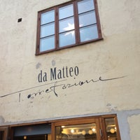 Photo taken at da Matteo by Timo P. on 1/13/2015